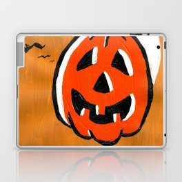 Vintage Jack o' Lantern and Bats Laptop & iPad Skin