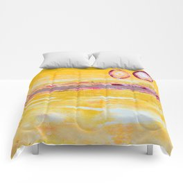 Two Sun in the Sky Comforters