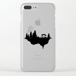 In the wild Clear iPhone Case
