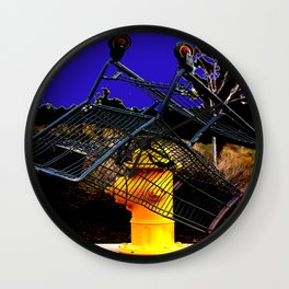 Fire Sale Wall Clock