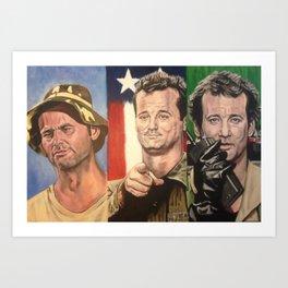 Triple Bill Art Print