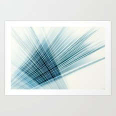 paper weave Art Print