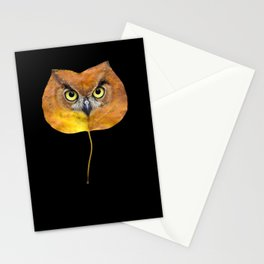 Autumn Owl-4 Stationery Cards