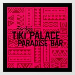 Pashy's Tiki Palace Art Print