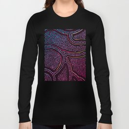 puple metallic Long Sleeve T-shirt