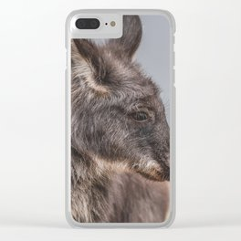 Wallaby Clear iPhone Case