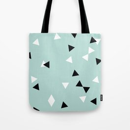 Simple Geometry / Triangles Tote Bag