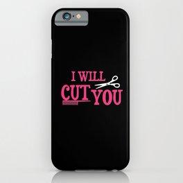 Hairdresser Gift iPhone Case