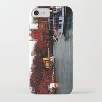 sweden iPhone & iPod Cases featuring Stockholm, Sweden  by JuliHami