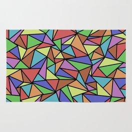 Pastel Triangulation Rug