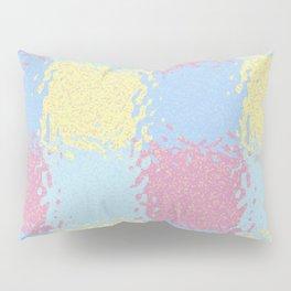 Pastel Jiggly Tile Pattern Pillow Sham