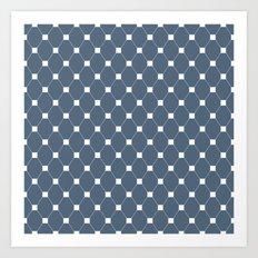 Geometric Pattern #160 Art Print