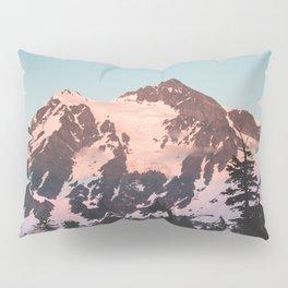 Pink Cascade Mountain Pillow Sham