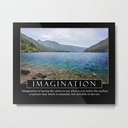 Imagination - Motivation Series Metal Print