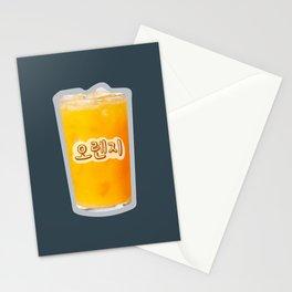 오렌지 Orange Juice Stationery Cards