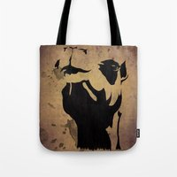 camel Tote Bags featuring camel by Mono Ahn