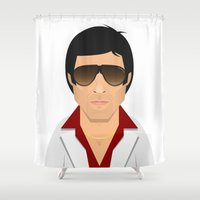 montana Shower Curtains featuring Tony Montana by Capitoni