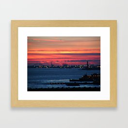 Vague Memories of New York Framed Art Print