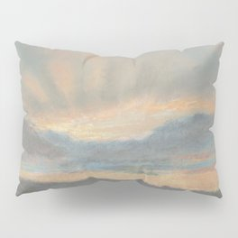 Sunset by Eugène Delacroix ca.1850, French Pillow Sham