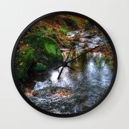 Bentley Brook autumn Wall Clock