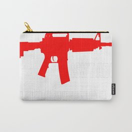 THE 2ND AMENDMENT ISNT ABOUT HUNTING Carry-All Pouch