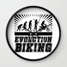 Evolution Biking - Motocross Wall Clock