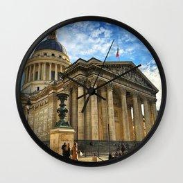 Pantheon, Paris, France Wall Clock