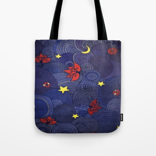 Lotus Sky Tote Bag