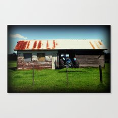 Maccas Drive Thru - Country Style Canvas Print