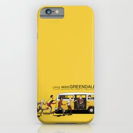 LITTLE MISS GREENDALE iPhone Case