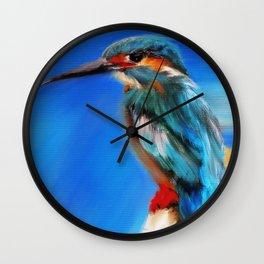 The Bird Of Many Colors Wall Clock