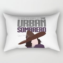The Urban Sombrero Rectangular Pillow