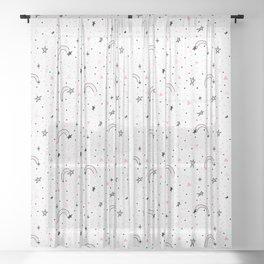 Super Super Star Sheer Curtain