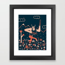 Wolverine is the Snikt Framed Art Print