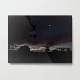 Under a Huskisson sky Metal Print
