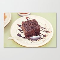 dessert Canvas Prints featuring dessert by iokk