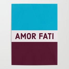 AMOR FATI - STOIC WISDOM Poster