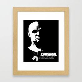 Kurtz Original Junglist Framed Art Print