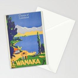 Vintage poster - Wanaka Stationery Cards