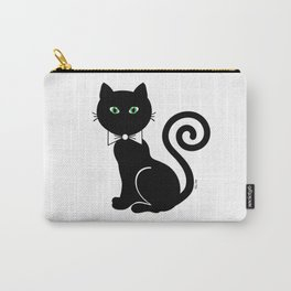 Bow Tie Cat Carry-All Pouch