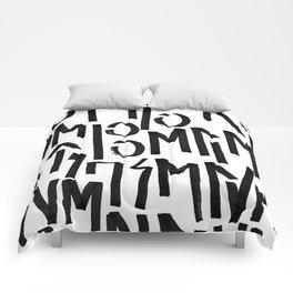 BE BRAVE<BELIEVEINYOURSELF Comforters