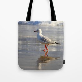 REFLECTIONS OF A SEAGULL Tote Bag