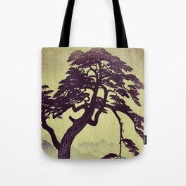 Old Man Standing Tote Bag