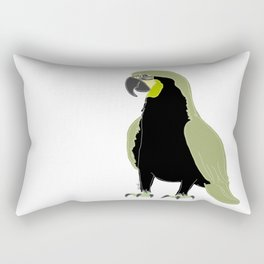 blue or green - who cares? Rectangular Pillow