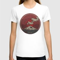 T-shirts featuring Fujisan by Hector Mansilla