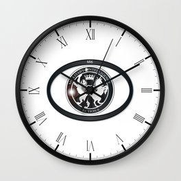 MI6 Oval Badge (Millitary Intelligence Section 6) Wall Clock