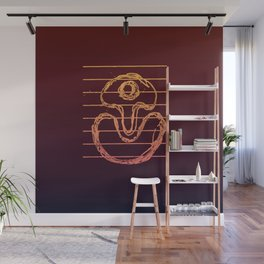 Suggestive Doodle, (Jazzed Up Version). Wall Mural