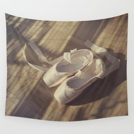 Ballet dance shoes Wall Tapestry