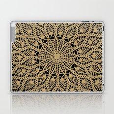 Delicate Golds Laptop & iPad Skin