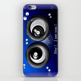 Hey! I see you! iPhone Skin